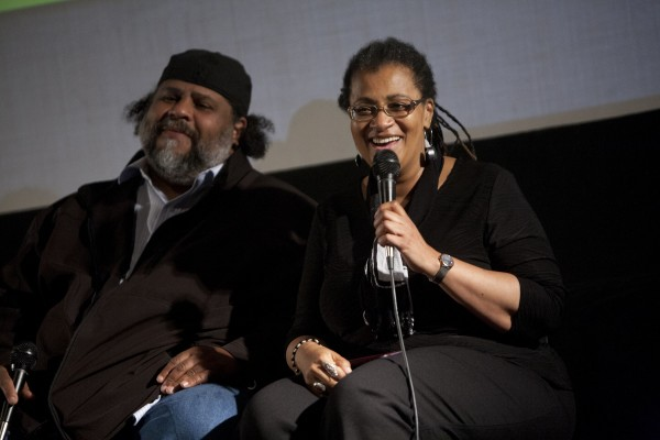 Derrick Evans and Judy Hatcher at the San Francisco Green Film Festival